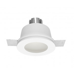 Traddel - Indoor recessed spotlights - Gypsum - Round recessed lamp M - Gypsum -  - Natural white - 4000 K - 70°