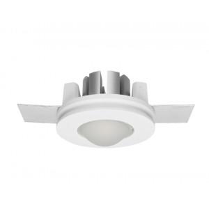 Traddel - Indoor recessed spotlights - Gypsum - Round recessed spotlight S - Gypsum -  - Natural white - 4000 K - 70°