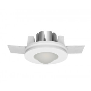 Traddel - Indoor recessed spotlights - Gypsum - Round recessed spotlight S