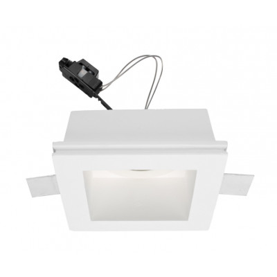 Traddel - Indoor recessed spotlights - Gypsum - Spotlight adjustable optic GU5,3 - Gypsum - LS-LL-62430