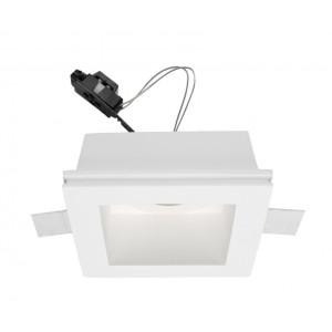 Traddel - Indoor recessed spotlights - Gypsum - Spotlight adjustable optic GU5,3 - Gypsum - LS-LL-62430