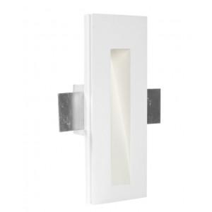 Traddel - Indoor recessed spotlights - Gypsum - Steplight M - Gypsum -  - Natural white - 4000 K - 70°
