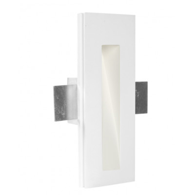 Traddel - Indoor recessed spotlights - Gypsum - Steplight M - Gypsum -  - Warm white - 3000 K - 70°