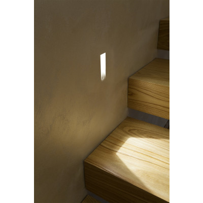 Traddel - Indoor recessed spotlights - Gypsum - Steplight S
