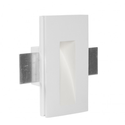 Traddel - Indoor recessed spotlights - Gypsum - Steplight S - Gypsum -  - Warm white - 3000 K - 70°