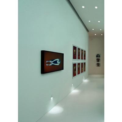 Traddel - Indoor recessed spotlights - Gypsum - Wall recessed lamp led