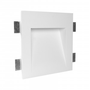 Traddel - Indoor recessed spotlights - Gypsum Wf4 FA LED - LED recessed spotlight in Gypsum