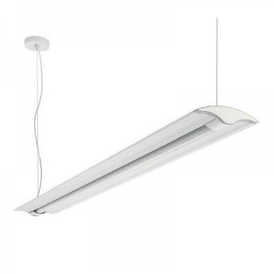 Traddel - Jeg - Office lamps - Jeg - Office pendant lamp 1260mm - White RAL 9010 - LS-LL-59044