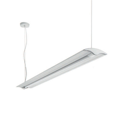 Traddel - Jeg - Office lamps - Jeg - Office pendant lamp 1560mm - Anodized aluminium semi opaque - LS-SK-59065