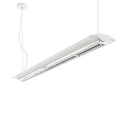 Traddel - Jeg - Office lamps - Jeg - Pendant lamp 1260mm dark light - White RAL 9010 - LS-LL-59054