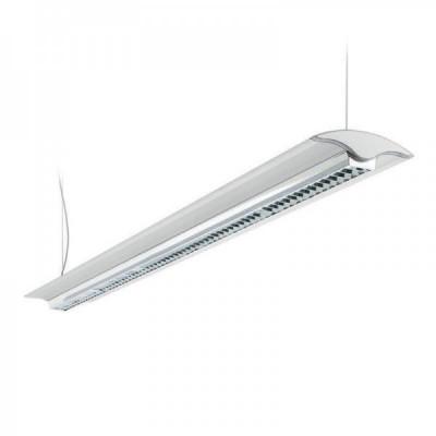 Traddel - Jeg - Office lamps - Jeg - Pendant lamp 1560mm dark light - White RAL 9010 - LS-LL-59074