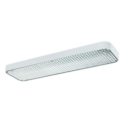 Traddel - Neox - Office lights - Neox dark Light - Ceiling lamp S - Embossed white - LS-LL-61624