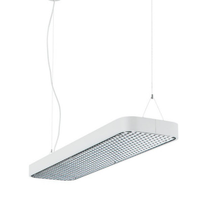 Traddel - Neox - Office lights - Neox - Dark light pendant lamp M - Embossed white - LS-LL-61774