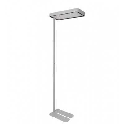 Traddel - Neox - Office lights - Neox Led - Office floor lamp - Embossed grey -  - Natural white - 4000 K - Diffused
