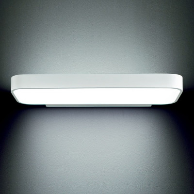 Traddel - Neox - Office lights - Neox - Opal diffuser wall sconce - Embossed white - LS-LL-61704