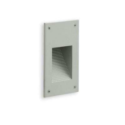 Traddel - Outdoor steplight - Insert - Recessed lamp S - Aluminium grey - LS-LL-52615