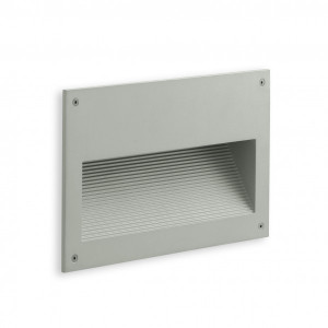 Traddel - Outdoor steplight - Insert - Recessed wall lamp L - Aluminium grey - LS-SK-52625