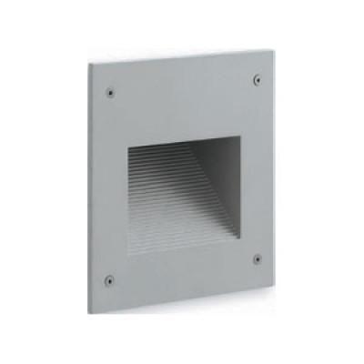 Traddel - Outdoor steplight - Insert S - Recessed steplight outdoor - Zirconium grey - LS-LL-61085