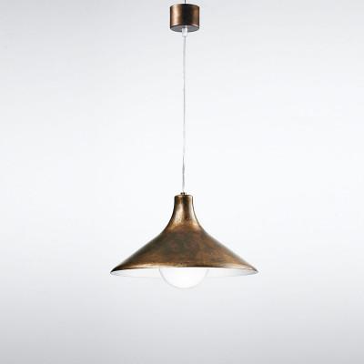 Traddel - Pendant Lamp - Bell - Bell-shaped pendant lamp - Rust - LS-LL-TR4357-9