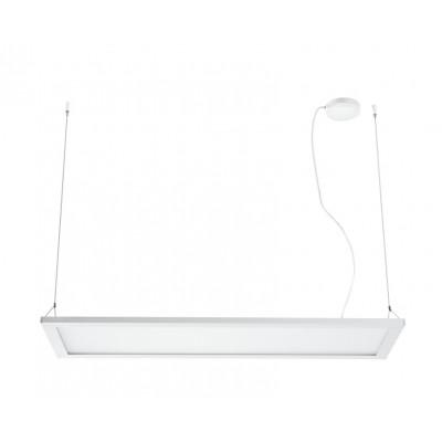 Traddel - Pendant Lamp - Matrix LED - Pendant lamp - Embossed white -  - Natural white - 4000 K - Diffused