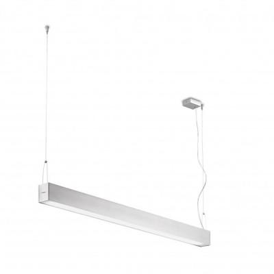 Traddel - Pendant Lamp - Profil H - Pendant lamp - Anodized aluminium semi opaque - LS-LL-55585