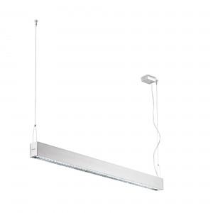 Traddel - Pendant Lamp - Profil H - Up/down emission dark-light - Anodized aluminium semi opaque - LS-SK-56065