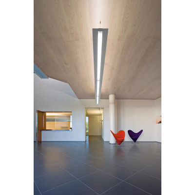 Traddel - Pendant Lamp - Reverse Up - Pendant lamp opal diffuser