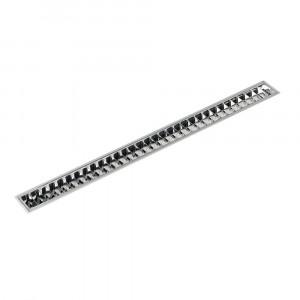 Traddel - Profil - Outline S - Specular aluminium diffuser - Anodized aluminium semi opaque - LS-SK-60215