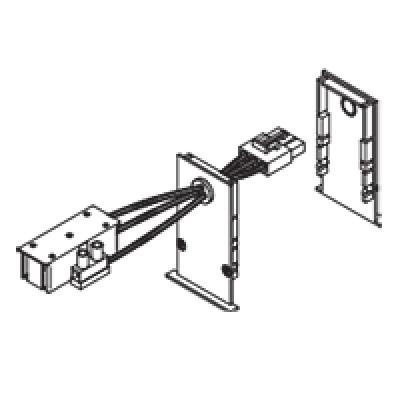 Traddel - Profilo incasso totale - End cap kit