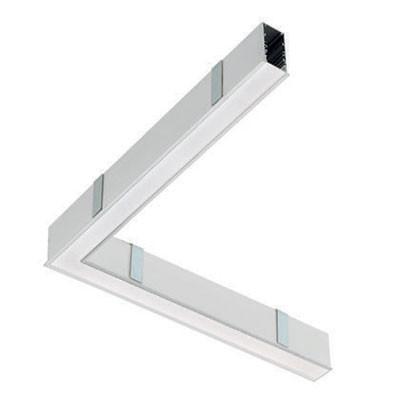 Traddel - Profilo incasso totale - Mini Outline LED - 90° curve ceiling/ceiling left