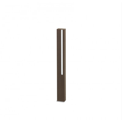 Traddel - Stick - Outdoor Lighting - Stick 1 - Lighting pole 654mm - Cor-ten steel -  - Warm white - 3000 K - Diffused