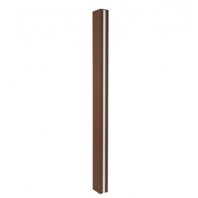 Traddel - Stick - Outdoor Lighting - Stick 2 - Outdoor lighting pole 912mm - Cor-ten steel -  - Warm white - 3000 K - Diffused