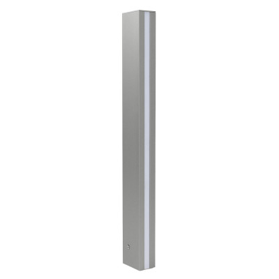 Traddel - Stick - Outdoor Lighting - Stick 2 - Outdoor lighting pole double emission 612mm - Zirconium grey -  - Warm white - 3000 K - Diffused