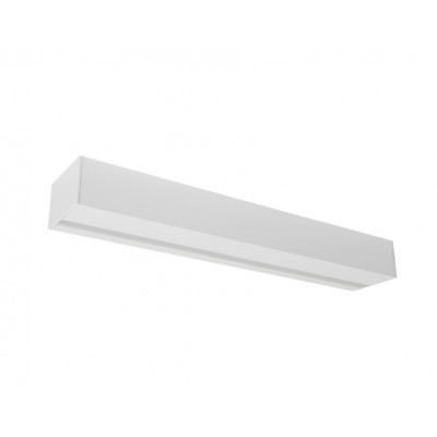 Traddel - Stick - Outdoor Lighting - Stick - Outdoor applique 412mm - Embossed white -  - Warm white - 3000 K - Diffused