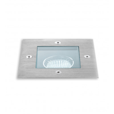 Traddel - Traddel spotlights - Texo - Square recessed spotlight - Stainless Steel - LS-LL-52671
