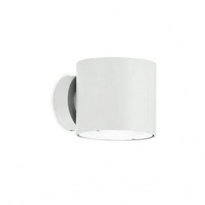 Traddel - Up/down emission sconce - Double - Wall lamp S - White RAL 9010 - LS-LL-TR437B