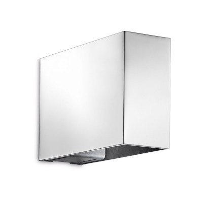 Traddel - Up/down emission sconce - Mini Dual - Up/down emission wall lamp - Chrome - LS-LL-57143