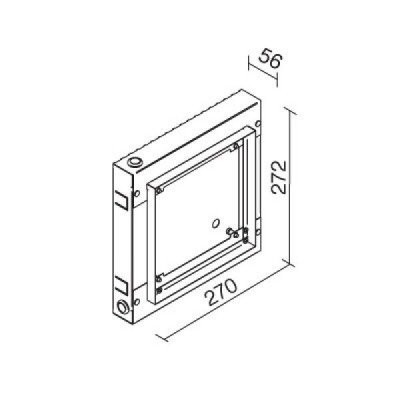 Traddel - Wall housing and outercasing - Brick/concrete mould - None - LS-LL-61420