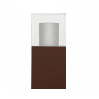 Traddel - Wall or ceiling outdoor lamp - I-Cube - Outdoor wall/ceiling/ground lamp - Cor-ten steel -  - Warm white - 3000 K - Diffused