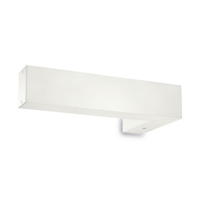 Traddel - Wall or ceiling outdoor lamp - Stalk - Single emission wall lamp - Embossed white - LS-SK-54774