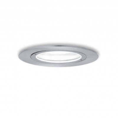 Traddel - Wall or ceiling outdoor lamp - Storm 2 - Round recessed spotlight