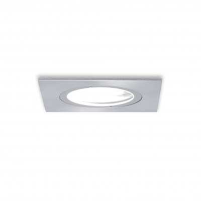 Traddel - Wall or ceiling outdoor lamp - Storm 2 - Square recessed spotlight