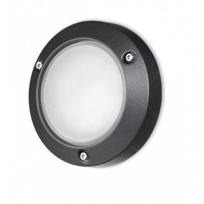 Traddel - Wall or ceiling outdoor lamp - Time - Ceiling lamp M - Embossed black - LS-SK-58467