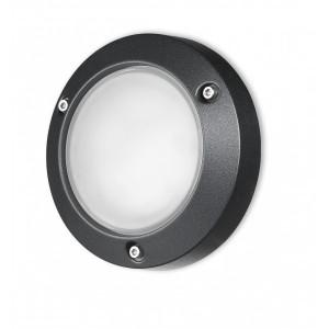 Traddel - Wall or ceiling outdoor lamp - Time - Ceiling lamp M - Embossed black - LS-SK-58467