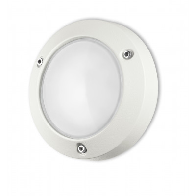 Traddel - Wall or ceiling outdoor lamp - Time - Ceiling lamp S - Embossed white - LS-LL-58474