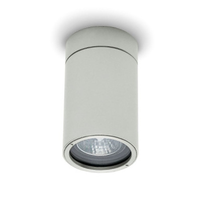 Traddel - Wall or ceiling outdoor lamp - Vision 2 - Ceiling spotlight M - Aluminium grey - LS-LL-51495