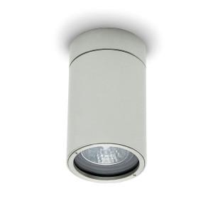 Traddel - Wall or ceiling outdoor lamp - Vision 2 - Ceiling spotlight M - Aluminium grey - LS-LL-51495