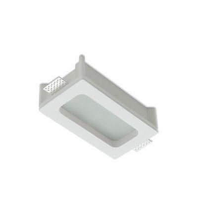 Traddel - Wall or ceiling recessed lamp - Gypsum - Ceiling light S - Gypsum - LS-LL-60880