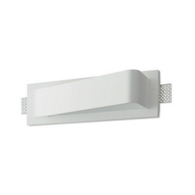 Traddel - Wall or ceiling recessed lamp - Gypsum - Led wall sconce design