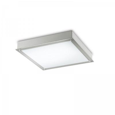 Traddel - Wall or ceiling recessed lamp - Millennium L - Recessed ceiling light square - Metallic grey - LS-SK-51905